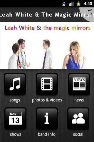 Leah White & The Magic Mirrors - screenshot