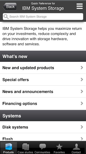 IBM Systems and Storage