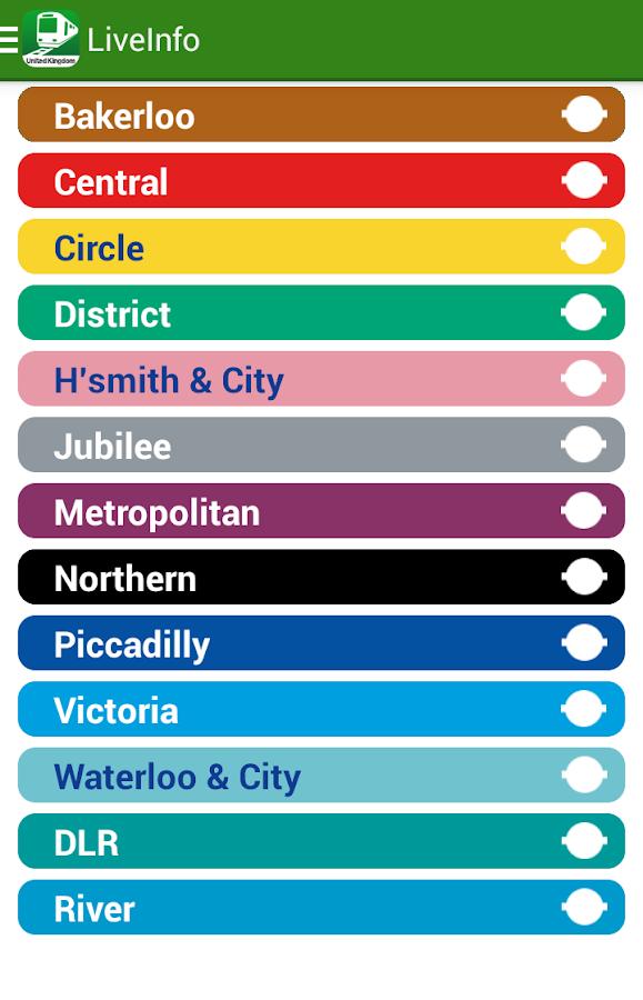 NAVITIME Transit - London UK - screenshot