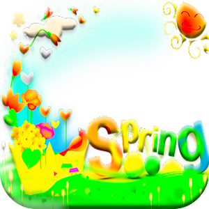 download Spring Love Frames apk