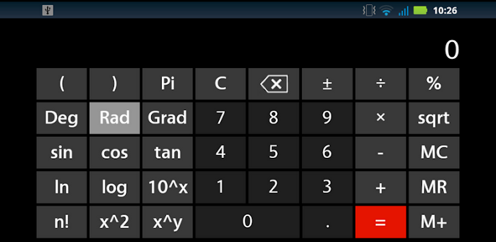 ����� �������� 7 ��� ��������� Seven  Calculator