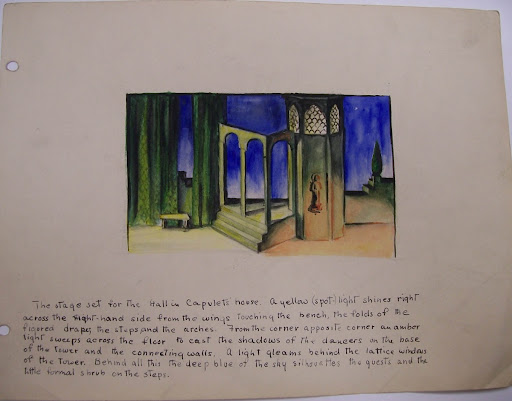 Set Design: ROMEO AND JULIET