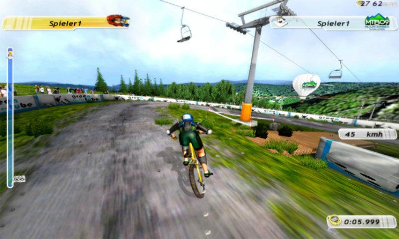 Downhill Bikes Game Downloads Downhill Bike Game screenshot