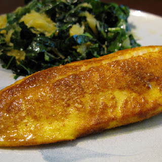 Nightshade-Free Curry-Baked Tilapia (or whitefish of choice)
